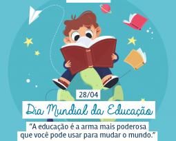 Dia Mundial da Educação